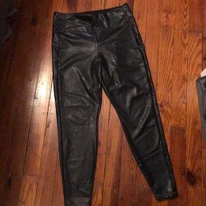 Athleta Leggings (look like leather)